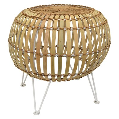 Liddle Accent Stool Color: Light Brown