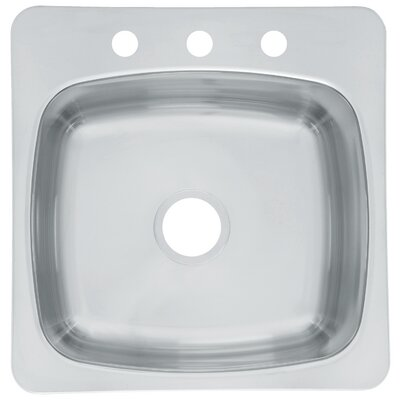 "Axis 20.13"" x 20.56"" Undermount/Drop-In Laundry Utility Sink"
