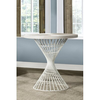 Latham Counter Height Dining Table Color: White