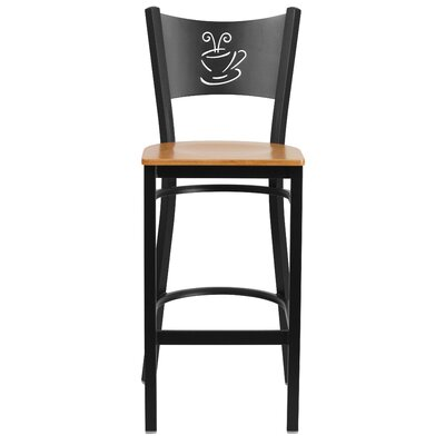 "Chafin 29"" Bar Stool Color: Natural"