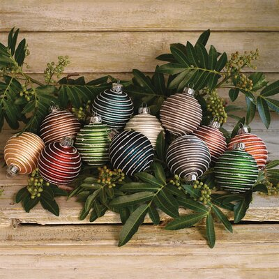 Assorted Glass Ball Ornament