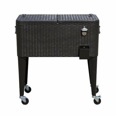 80 Qt. Patio Rolling Cooler