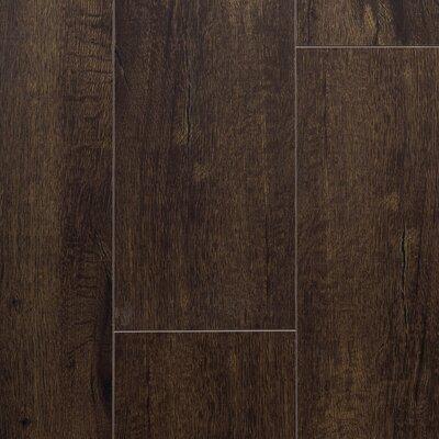 "Essence 8"" x 48"" x 12mm Laminate Flooring in Midnight Black"