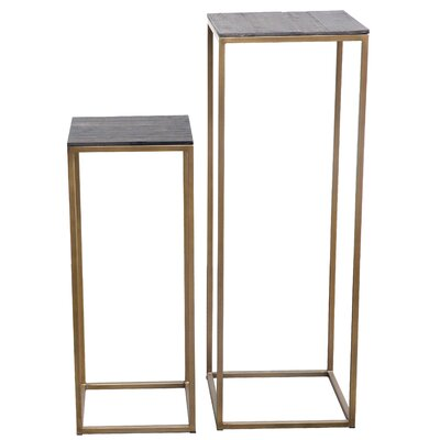 Bellino 2 Piece Plant Stand Set