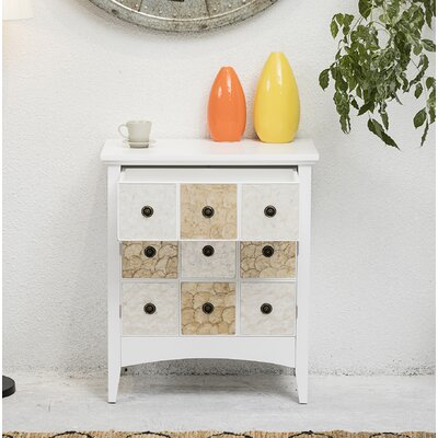 Galle 2 Door Accent Cabinet Color: White