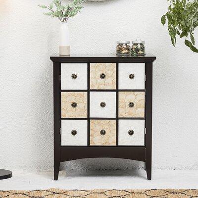 Galle 2 Door Accent Cabinet Color: Espresso