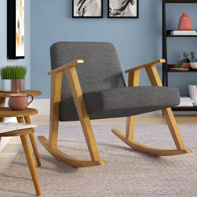 Welliver Rocking Chair Fabric: Gray
