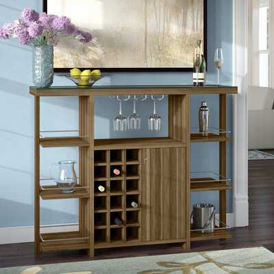 Malin Bar with Wine Storage
