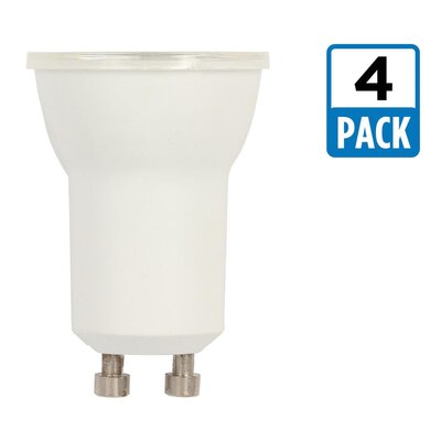 4W GU10 Dimmable LED Floodlight Light Bulb Pack Size: 4