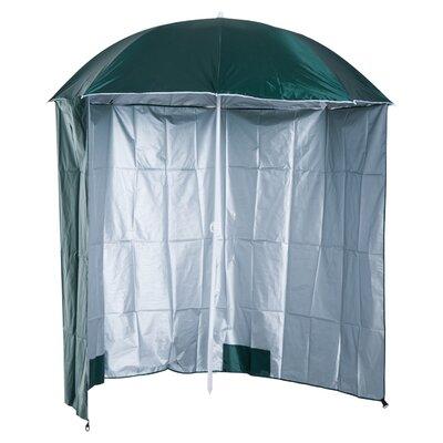 Schmitt 7' Beach Umbrella Fabric Color: Green