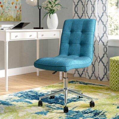 Geraghty Mid-Back Desk Chair Color: Blue
