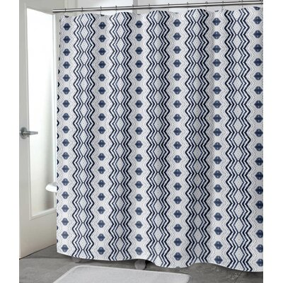 "Hodnett Shower Curtain Size: 72"" H x 70"" W"