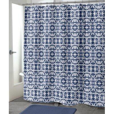 "Hodgkins Shower Curtain Size: 72"" H x 70"" W"