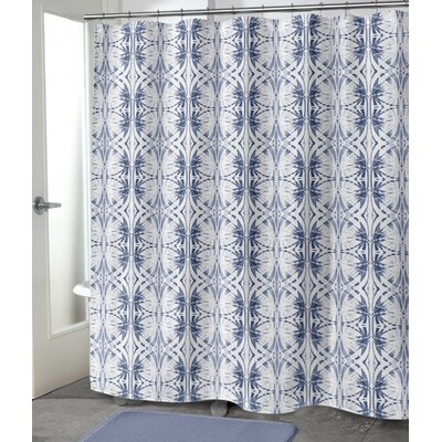 "Vanvalkenburg Shower Curtain Size: 72"" H x 70"" W, Color: Pale Indigo"