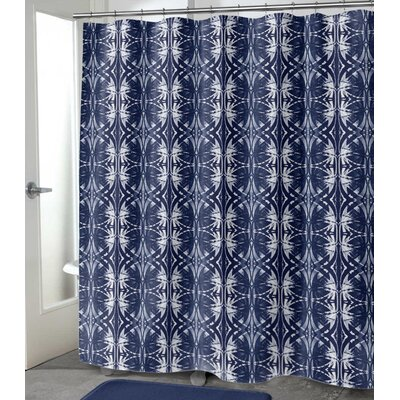 "Vanvalkenburg Shower Curtain Size: 72"" H x 70"" W, Color: Dark Indigo"