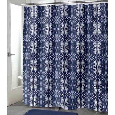 """Vanvalkenburg Shower Curtain Size: 72"""" H x 70"""" W, Color: Dark Indigo"""