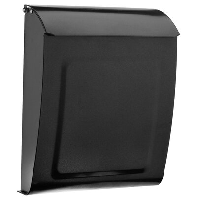 Aspen Locking Wall Mounted Mailbox Mailbox Color: Pewter