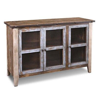 Kinsley Curio 3 Doors Accent Cabinet