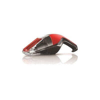Quick Flip 8V Cordless Bagless Handheld Vacuum Color: Red/Black