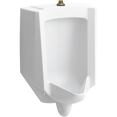 Bardon High-Efficiency Urinal (HEU), Washdown, Wall-Hung, 0.125 GPF to 1.0 GPF, Top Spud, Antimicrobial