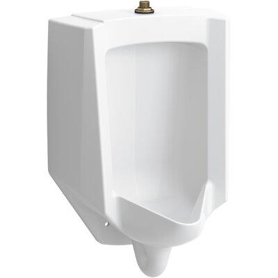 Bardon High-Efficiency Urinal (HEU), Washdown, Wall-Hung, 0.125 GPF to 1.0 GPF, Top Spud, Antimicrobial
