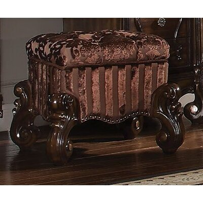 Tanner Vanity Stool Color: Brown