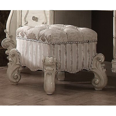 Tanner Vanity Stool Color: Ivory