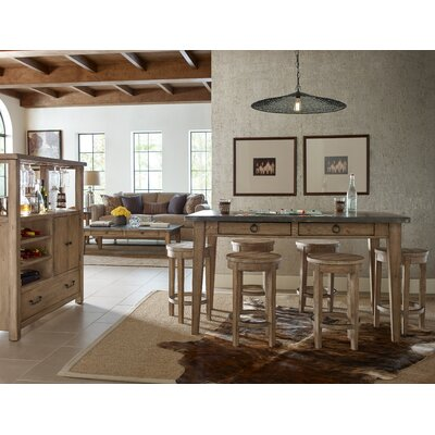 Monteverdi 7 Piece Pub Table Set