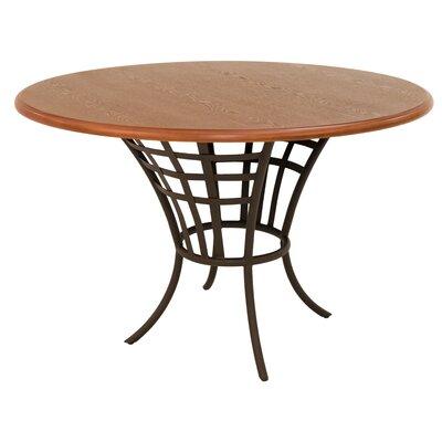 Meza Dining Table Base Color: Bronze