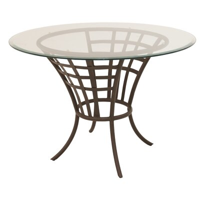 Meza Dining Table Base Color: Bronze