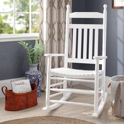 Ballett Adult Rocking Chair Frame Color: White