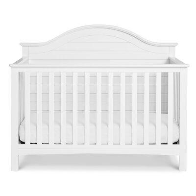 Nolan 4-in-1 Convertible Crib Color: White