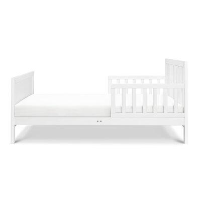 Benji Toddler Bed Bed Frame Color: White