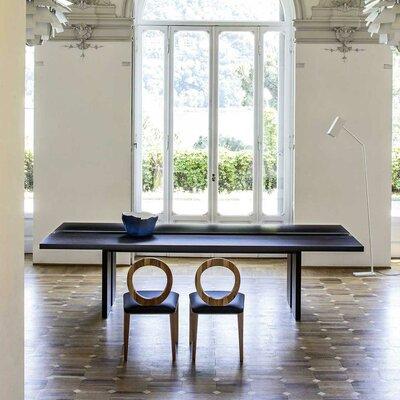 "Regency Dining Table Size: 29.5"" H x 47.3"" W x 118.1"" L"