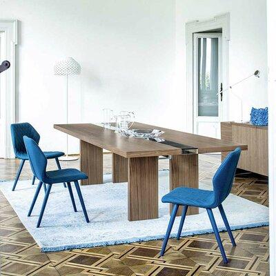 "Regency Dining Table Size: 29.5"" H x 39.4"" W x 98.5"" L"