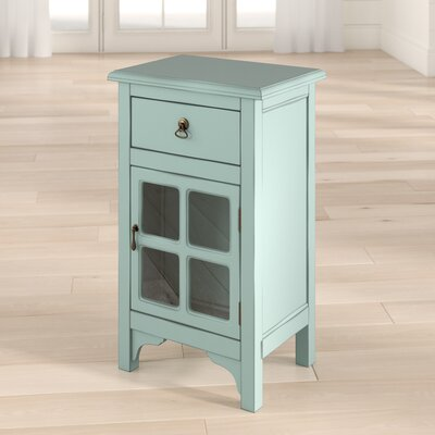 Starboard 1 Drawer Accent Cabinet Color: Light Antique Blue