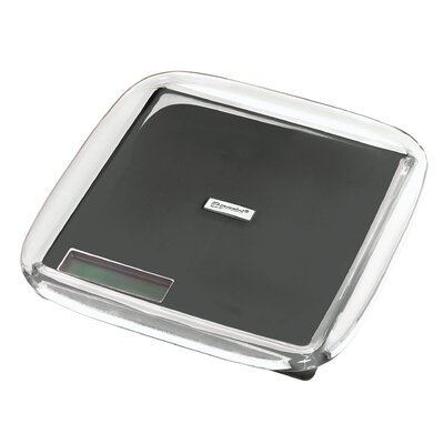 Latina Acrylic Electronic Digital Kitchen Scale Color: Gray