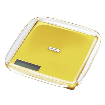 Latina Acrylic Electronic Digital Kitchen Scale Color: Yellow