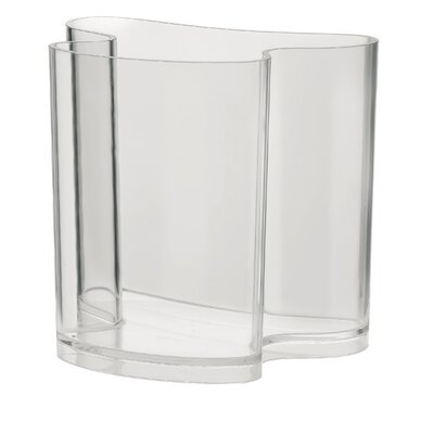 Casa Isola Magazine Rack Finish: Clear