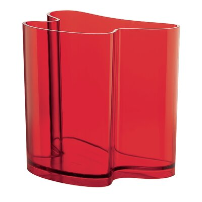 Casa Isola Magazine Rack Finish: Red