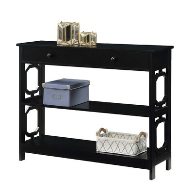 Buffavento Console Table Color: Black
