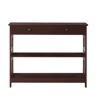 Buffavento Console Table Color: Espresso