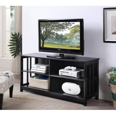 "Cade 47"" TV Stand Color: Black"