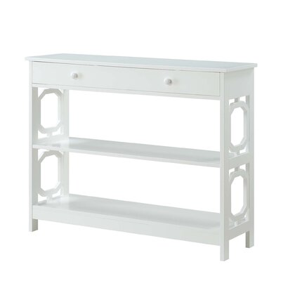 Buffavento Console Table Color: White