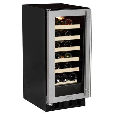 23 Bottle Single Zone Built-In Wine Cooler Hinge Location: Left