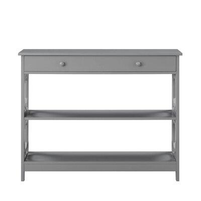 Buffavento Console Table Color: Gray