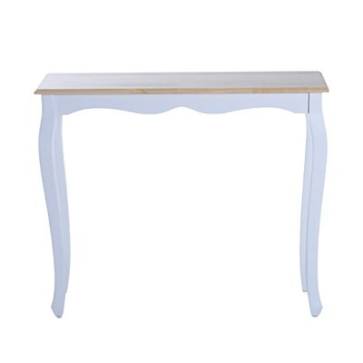 Damion Entryway Console Table Table Base Color: White
