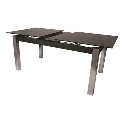 Jensen Extendable Dining Table Top Color: Black