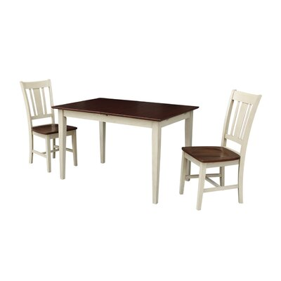 Butterfly 3 Piece Drop Leaf Dining Set