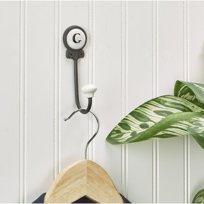 Zircon Classy Lettered Coat for Personalized Storage Wall Hook Letter: G